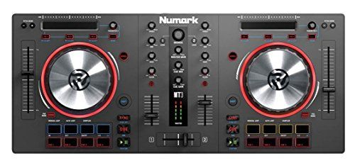 Numark Mixtrack 3  Allinone Controller Solution with Virtual DJ LE Software Download ** You can get more details by clicking on the image.Note:It is affiliate link to Amazon.