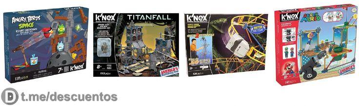 Juguetes de construcción de la marca KNEX desde 12 - http://ift.tt/2mIVpXz