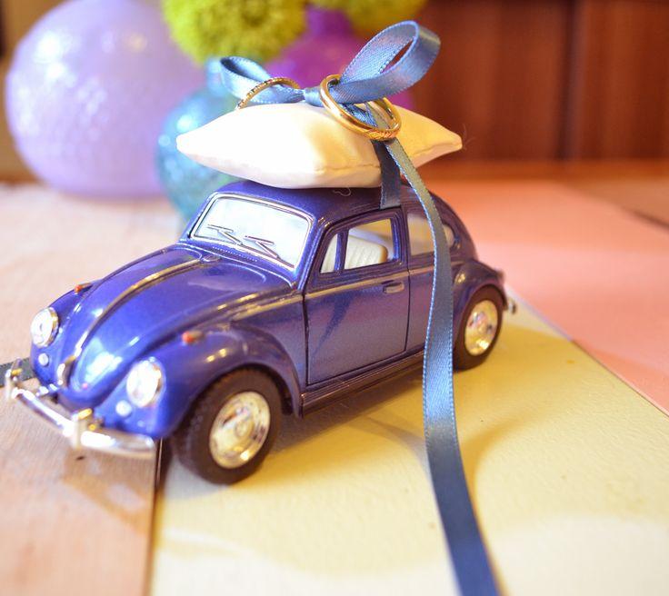 Volkswagen/ringpillow for wedding