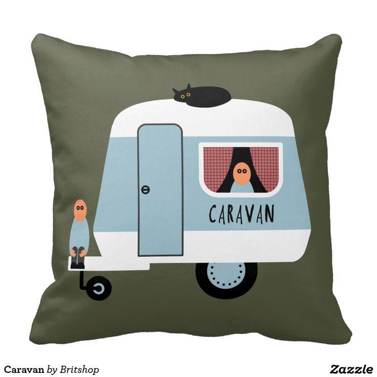 17 beste afbeeldingen over pimping caravan caravan pimpen op pinterest gordijnen retro - Kussen caravan ...