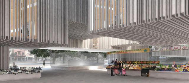 Patios de Luz | Concurso Mercado de La Laguna | HIC Arquitectura