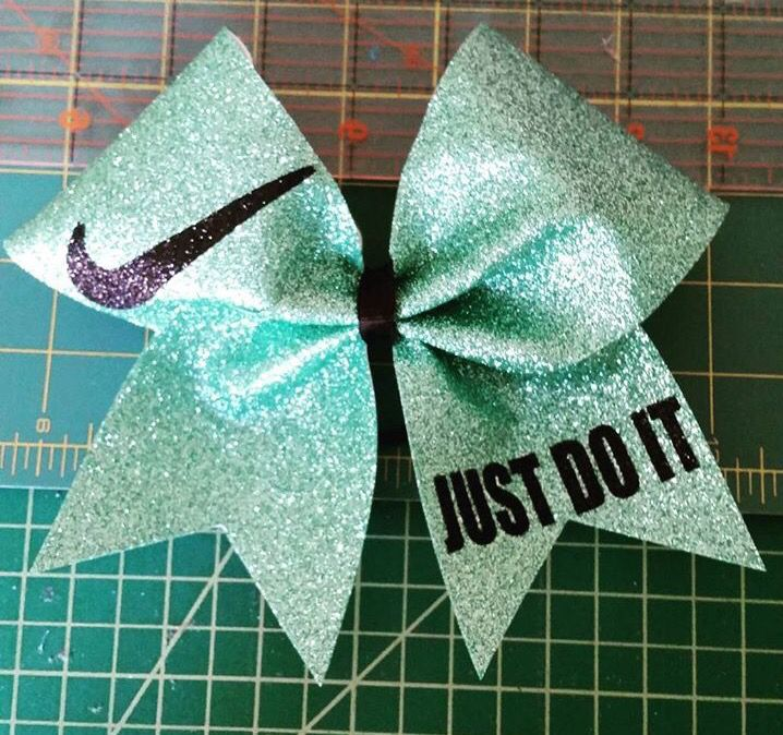 Nike Just Do it Bow from Just Cheer Bows