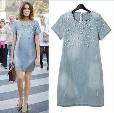 http://www.ebay.com/itm/2016-Fashion-Lady-Women-Washed-Denim-Dress-Pearls-Beaded-OL-Casual-Shift-Dress-/152018955580?var=&hash=item2365092d3c:m:mSJ4gAbjgqesTIakyg765Zw