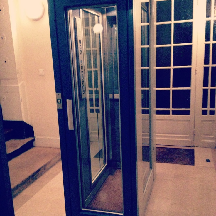 7. fear #marchphotoaday the smallest elevator in the world! #claustrophobia #home #Paris
