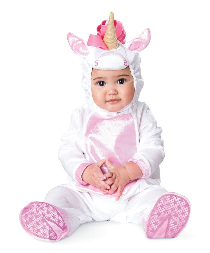Look what I found on #zulily! Baby Unicorn Dress-Up Outfit - Infant by chasing fireflies #zulilyfinds