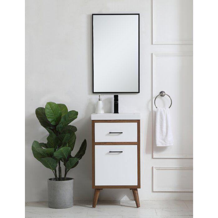 Joel 18 Single Bathroom Vanity Reviews Allmodern Downstairs Bathroom Single Bathroom Vanity Bathroom Vanities For Sale Vanity Set