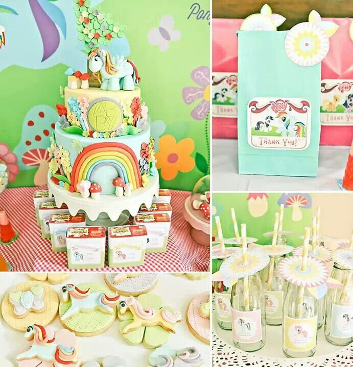 My Little Pony Diy Party Decor Pinterest Ponies My