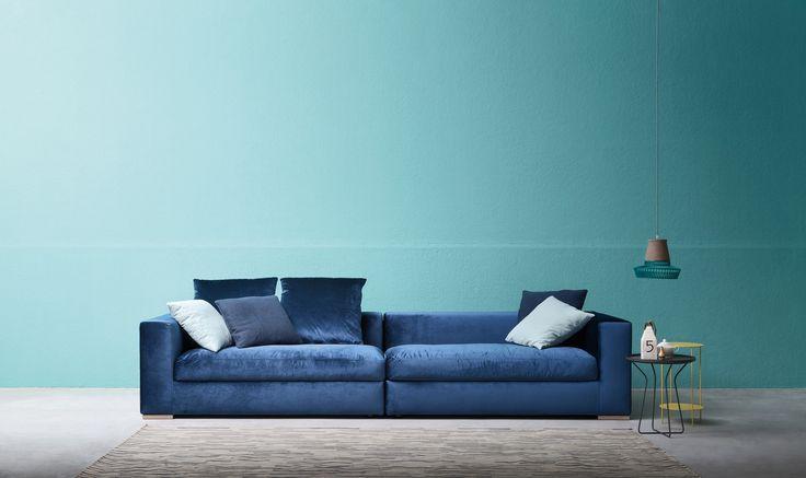 Il divano California è perfetto per aggiungere un tocco