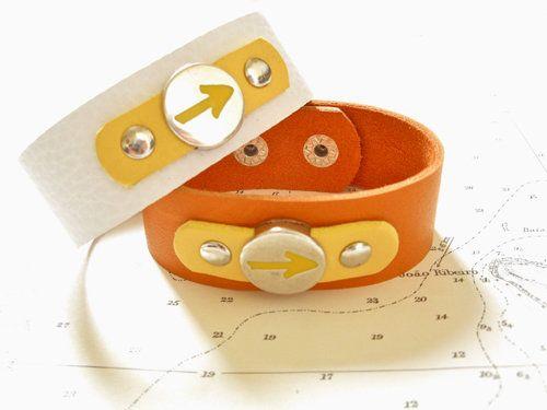 Way of St James Arrow symbol cuff bracelet, £24.50