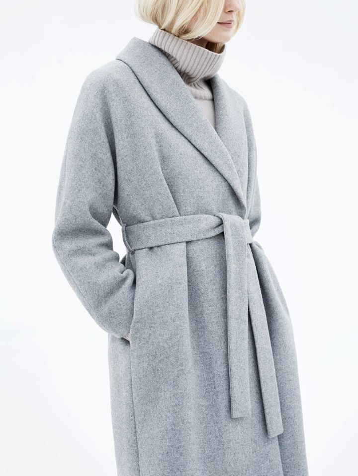 17 Best ideas about Wrap Coat on Pinterest | Trench coats Style