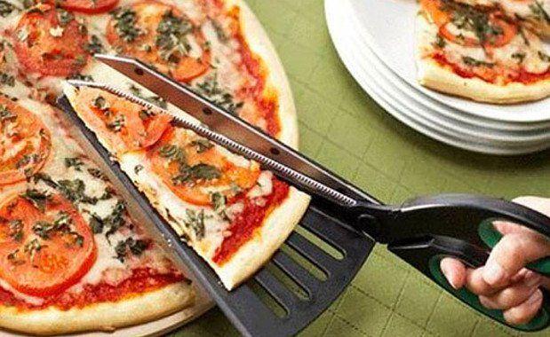 Amazing Inventions Pizza Scissors | www.piclectica.com #piclectica