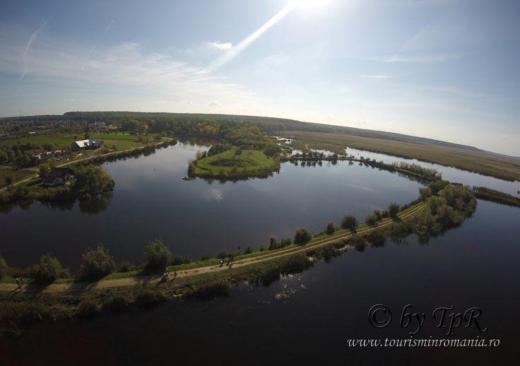 Parcul Natural Comana, fotografie aeriana