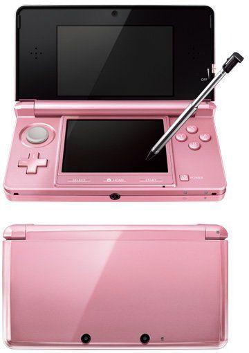 """Misty Pink"" 3DS"