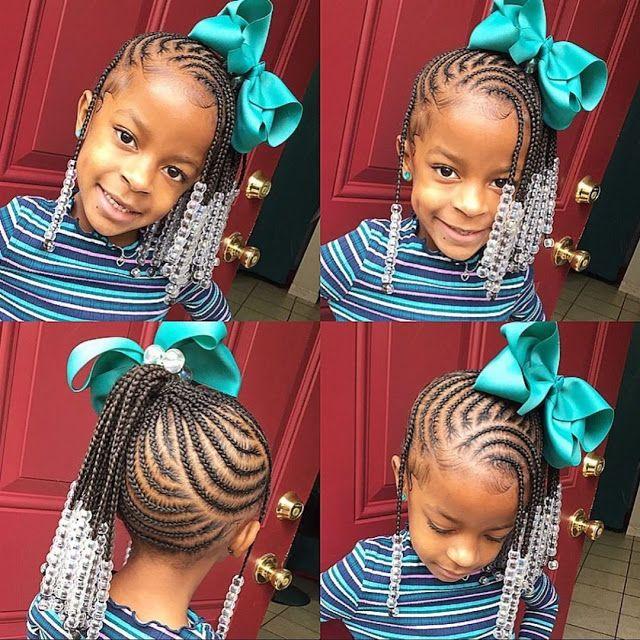 2020 Braided Hairstyles For Black Kids Black Kids Hairstyles Kids Braided Hairstyles Lil Girl Hairstyles