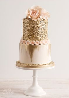 Amazing, Contemporary Wedding Cakes by De La Créme Creative Studio ~ we ❤ this! http://moncheribridals.com
