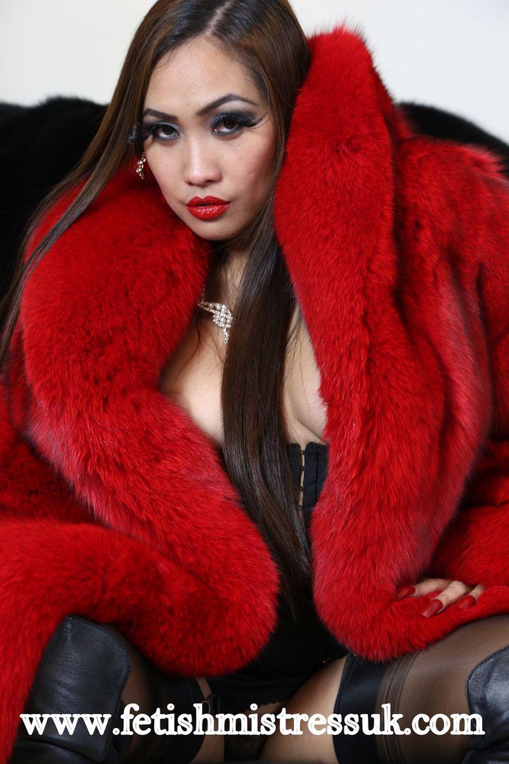 Ultra Soft Red Fox Fur Coat...