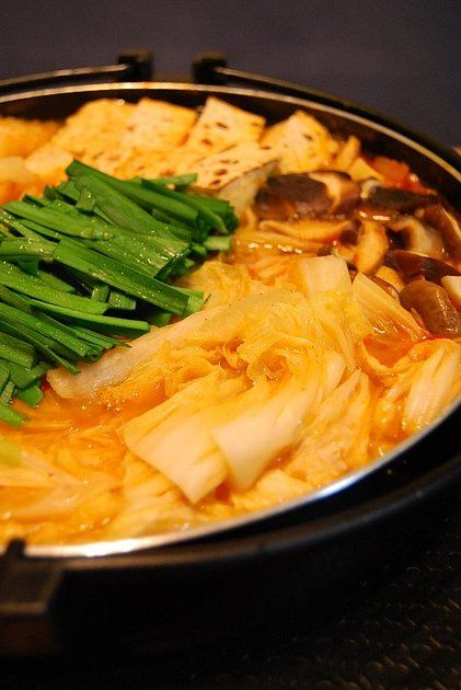 キムチ鍋。 by つくしぐみ [クックパッド] 簡単おいしいみんなのレシピが224万品