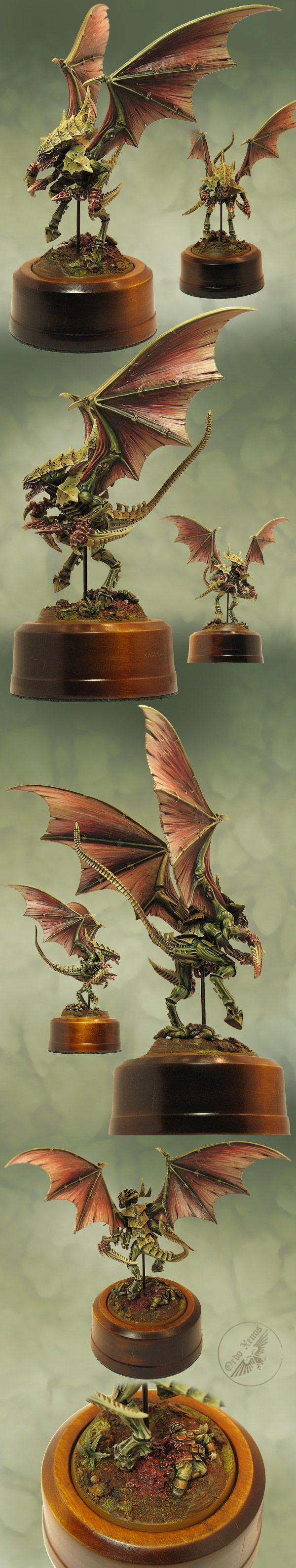 Tyranid winged Hive Tyrant (Forgeworld)