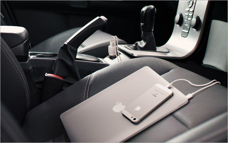 사테치(Satechi), 맥북∙아이폰 동시 충전 가능한 차량용 USB-C 충전기 출시 :: Back to the Mac 블로그