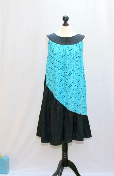 Secret de la robe bleu et noir