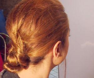 Zaubere dir eine schnelle und trendy Frisur - super easy!