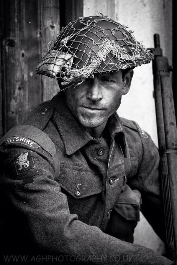 British Soldier - Wiltshire regiment, WW2