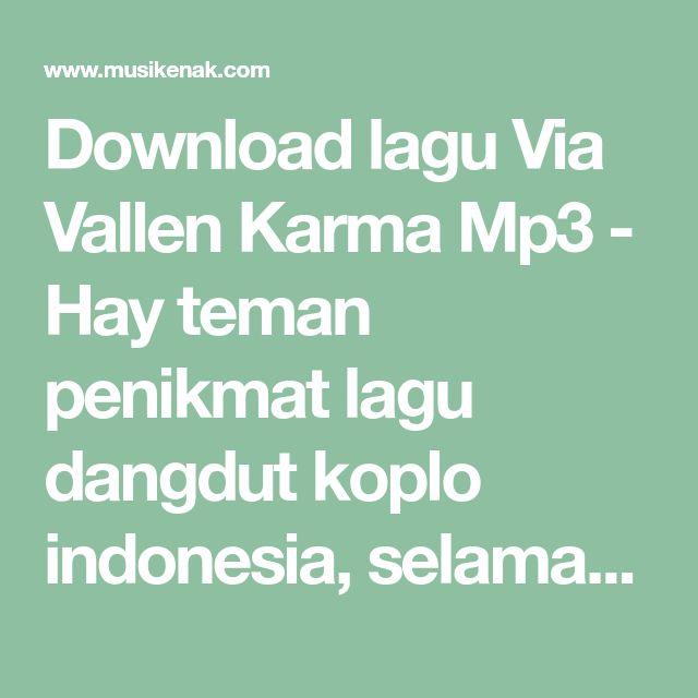 download lagu mp3 dangdut koplo via vallen