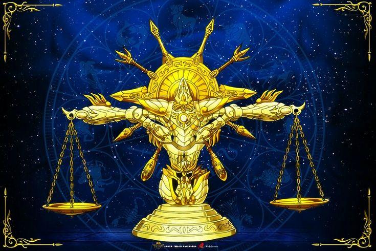 Libra Kamui Divina Saint Seiya Soul of Gold