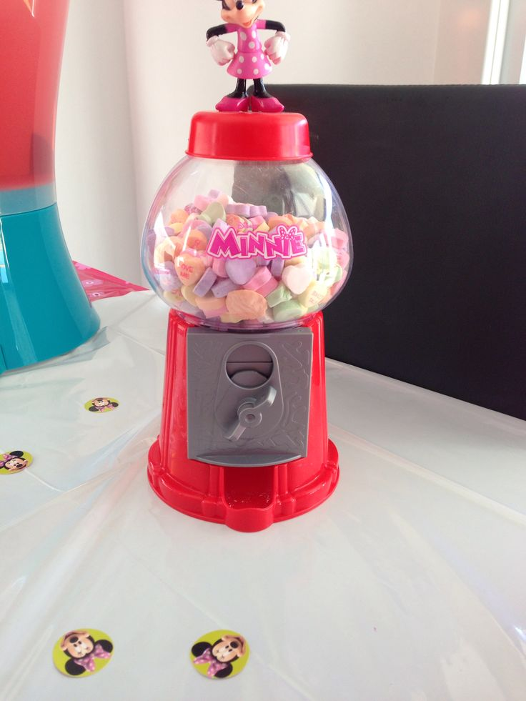 Minnie Mouse lolly dispenser
