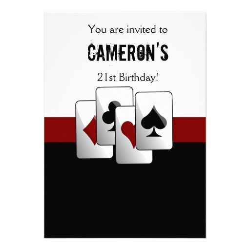 1000 ideas about casino night party on pinterest casino for Where can i buy party invitations