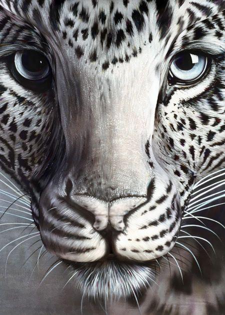 Bodypainting – Der weiße Tiger von Craig Tracy bodypainting