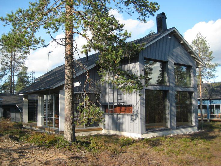 Holiday houses on the hill Taivalvaara, Taivalkoski, Lapland, Finland www.hotelliherkko.com