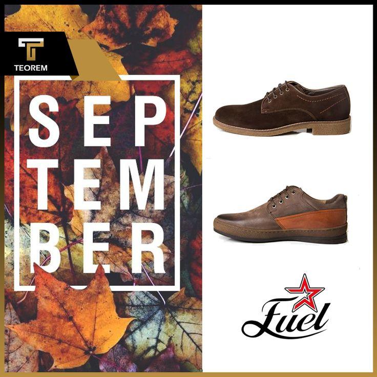 Merhaba Sonbahar!  Hakiki deriden, casual ayakkabı üretimine sahip markamız Fuel, bu sonbahar da tarzınızın en önemli tamamlayıcısı olacak.