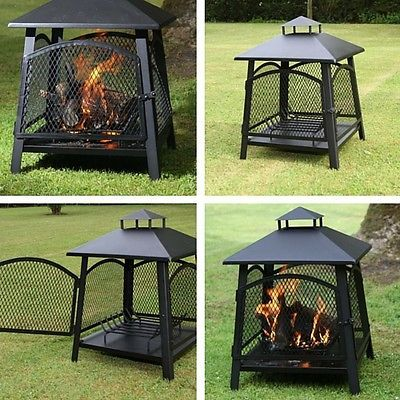 Fire #camping outdoor #heater #garden patio portable wood fire pit chimenea yard,  View more on the LINK: 	http://www.zeppy.io/product/gb/2/291795897305/