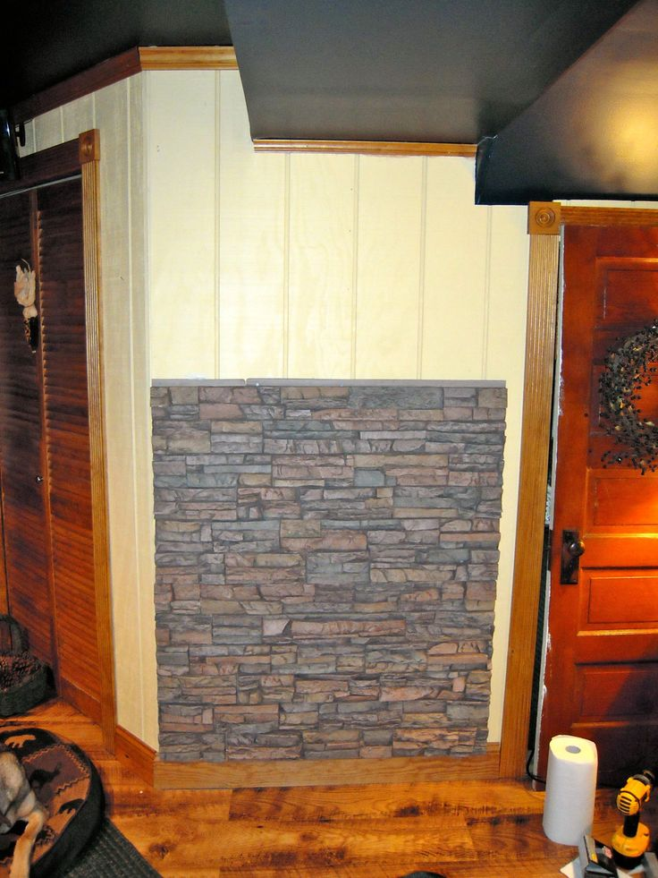Wood Stove Wall Board : Best images about design ideas dining room on pinterest