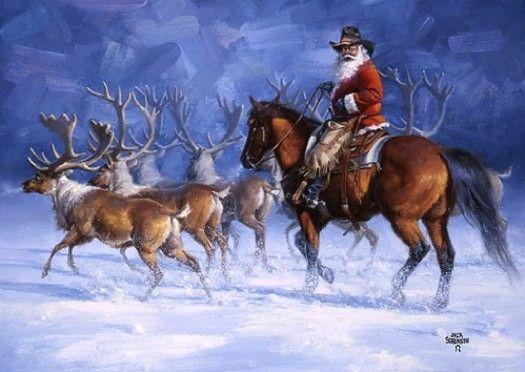 Reindeer Roundup by Jack Sorenson