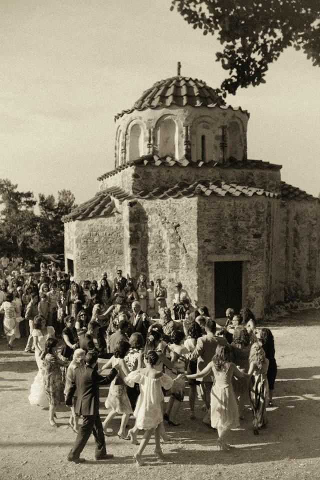 VINTAGE GREECE: The Village Dances! Corfu (Kerkyra), Date Unknown.