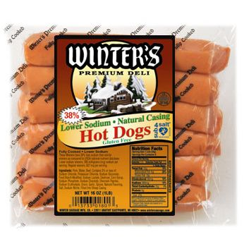 No Salt Added Hot Dogs