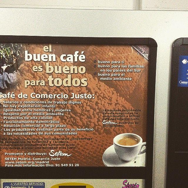 #Vending #Solidario #Café #ComercioJusto