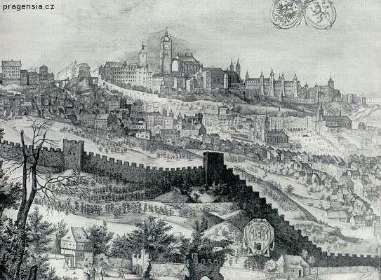 Prague Castle 1606