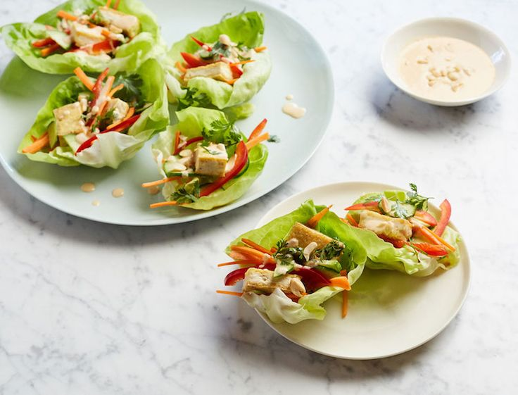Easy dinner idea: We love a lettuce cup around here, and these ones don't disappoint.