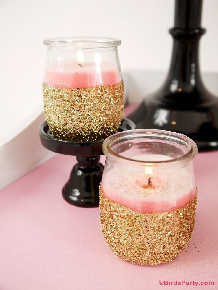 Idées Table et Bar Festives pour La Saint Valentin en rose et noir