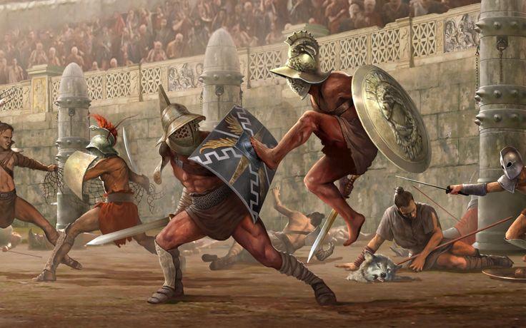 Fond d'écran hd : gladiateurs