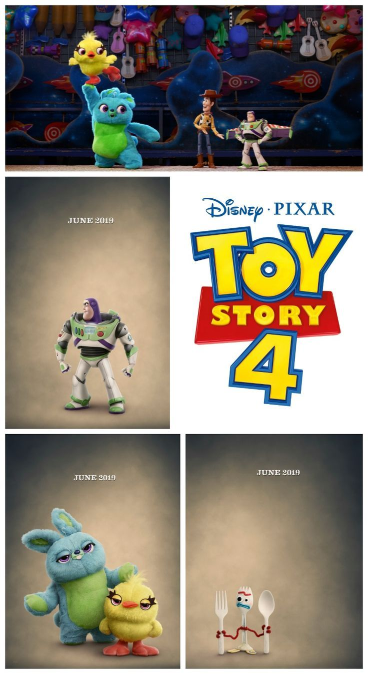 Toy Story 4 Teaser Trailer And Character Posters Toystory4 Toy