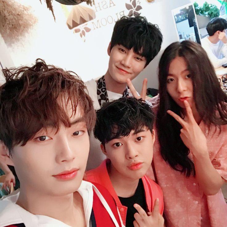 Yongguk, Yehyun, Moonbok, Hyunwoo