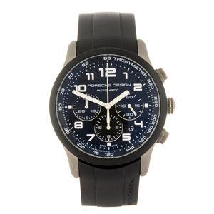 PORSCHE DESIGN - a gentleman's P'6612 wrist watch.    Estimate GBP: £500 - £700