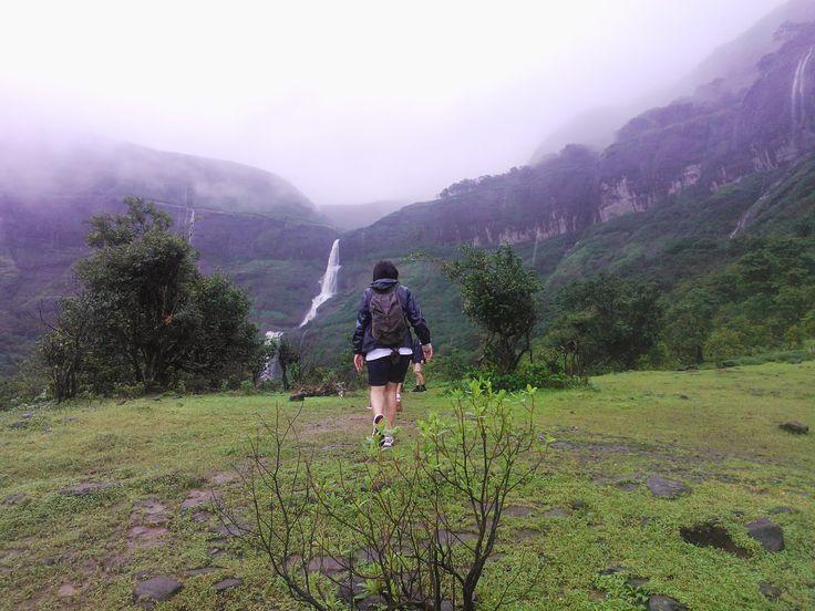 Harishchandragad trek in Western Ghats India