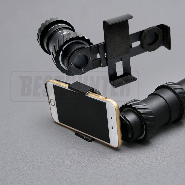 Bestsight AD-1 43MM-45MM Aluminium Alloy Cell Phone Scope Mount With Fully Multi-green Coated Optics