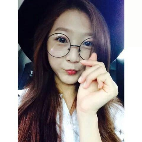 Kim Sae Ron With Glasses!  Still Cute