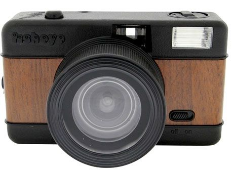 MY Fisheye Woodgrain Camera